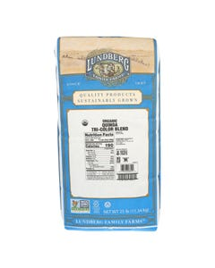 Lundberg Family Farms Quinoa Tri Color Blend - Single Bulk Item - 25LB