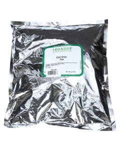 Frontier Herb Tea Black Early Grey - Single Bulk Item - 1LB