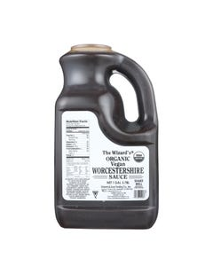 Wizard Organic Sauce - Worcestershire - 128 oz