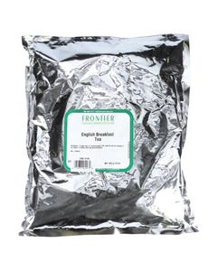 Frontier Herb Tea - Black - English Breakfast - Traditional Blend - Bulk - 1 lb
