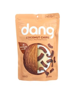 Dang - Toasted Coconut Chips - Salted Cacao - Case of 12 - 2.82 oz.