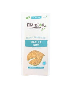 Manitou Trading Company All Natural Paella Rice - Case of 6 - 7 OZ