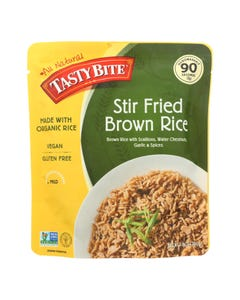 Tasty Bite Rice - Stir Fried Brown - 8.8 oz - case of 6