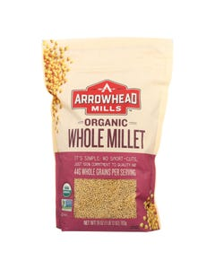Arrowhead Mills - Organic Hulled Millet - Case of 6 - 28 oz.