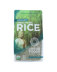 Lotus Foods Organic Jade Pearl Rice - Case of 6 - 15 oz.