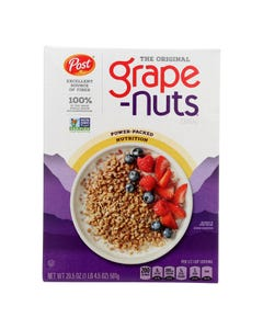 Post Grape-Nuts The Original Cereal  - Case of 12 - 20.5 OZ