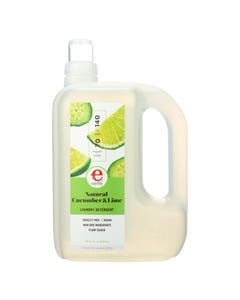 Earthy Liquid Laundry Detergent - Cucumber & Lime - Case of 4 - 70 oz