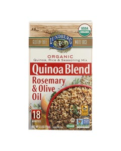Lundberg Family Farms - Quinoa Rice and Seasoning Mix - Rosemary and Olive Oil - Case of 6 - 5.50 oz.
