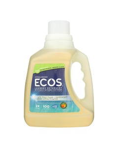 Earth Friendly Laundry Detergent - ECOS - Honeydew - Case of 4 - 100 fl oz