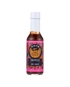 Siete - Hot Sauce Chipotle - Case of 6 - 5 OZ