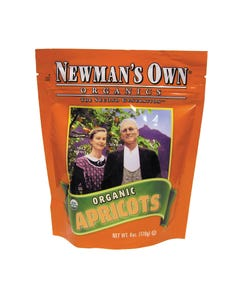 Newman's Own Organics Dried Apricots - Organic - Case of 12 - 6 oz.