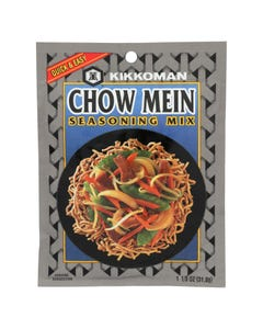 Kikkoman Seasoning - Chow Mein Mix - Case of 12 - 1.12 oz