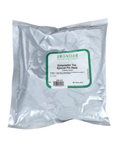 Frontier Herb Green Tea - Gunpowder - Bulk - 1 lb