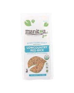 Manitou Trading Company Lowcountry Red Rice - Case of 6 - 7 OZ