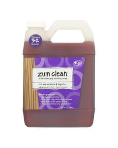 Zum - Clean Laundry Soap - Frankincense and Myrrh - Case of 8 - 32 oz.