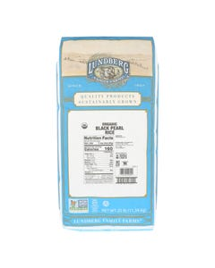Lundberg Family Farms Black Pearl Rice - Organic - 25 lb.