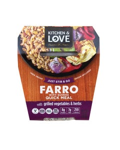 Cucina and Amore - Grilled Vegetables - Farro - Case of 6 - 7.9 oz