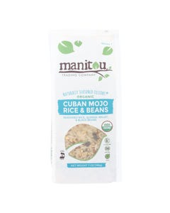 Manitou - Rice&beans Cuban Mojo - Case of 6 - 7 OZ