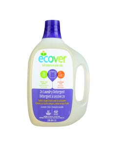 Ecover 2X Laundry Detergent - Lavender Field - Case of 4 - 93 FL oz.
