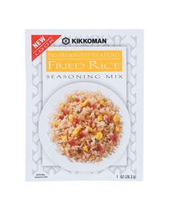 Kikkoman Fried Rice Seasoning Mix - Case of 24 - 1 oz.