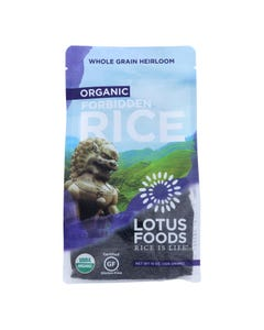 Lotus Foods Heirloom Forbidden Rice - Case of 6 - 15 oz.