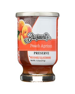 Braswell's - Preserve - Peach Apricot - Case of 6 - 11 oz.