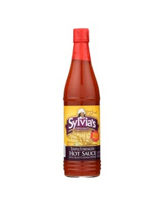 Sylvia's Triple Strength Hot Sauce With Aged Cayenne Pepper  - Case of 24 - 6 FZ