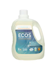 Earth Friendly Free and Clear Laundry Detergent - Case of 2 - 210 FL oz.