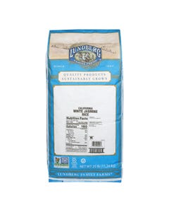 Lundberg Family Farms EcoFarmed Rice Jasmine White - Single Bulk Item - 25LB