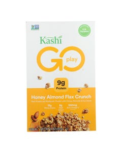 Kashi Cereal - Multigrain - Golean - Crunch - Honey Almond Flax - 14 oz - case of 12
