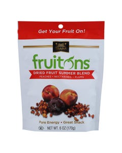 Traina - Fruitons Summer Blend - Case of 8 - 6 OZ