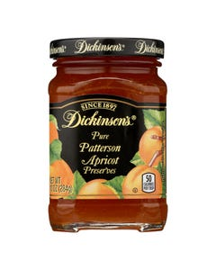 Dickinson - Pure Patterson Apricot Preserves - Case of 6 - 10 oz.