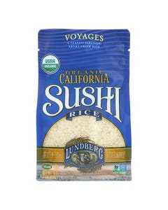 Lundberg Family Farms California Sushi Rice - Case of 6 - 1 lb.