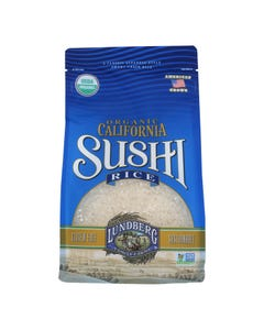 Lundberg Family Farms Organic Sushi White Rice - Case of 6 - 2 lb.