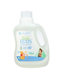 Earth Friendly Baby Free and Clear Disney Laundry Detergent - Case of 4 - 100 FL oz.