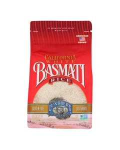 Lundberg Family Farms California Basmati White Rice - Case of 6 - 2 lb.