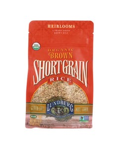 Lundberg Family Farms Short Grain Brown Rice - Case of 6 - 1 lb.